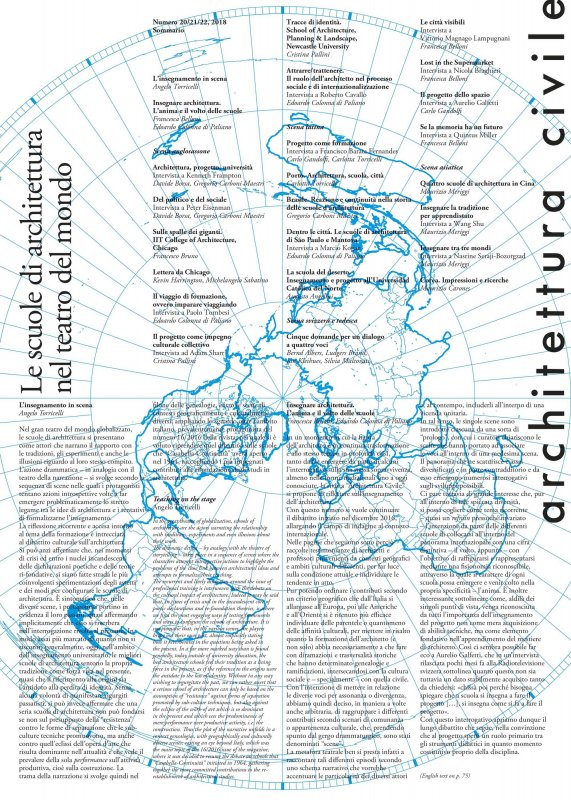 Architettura civile n.20/21/22, 2018