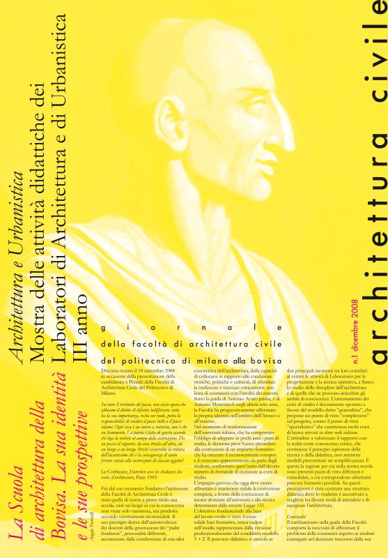 Architettura Civile n.1, 2008