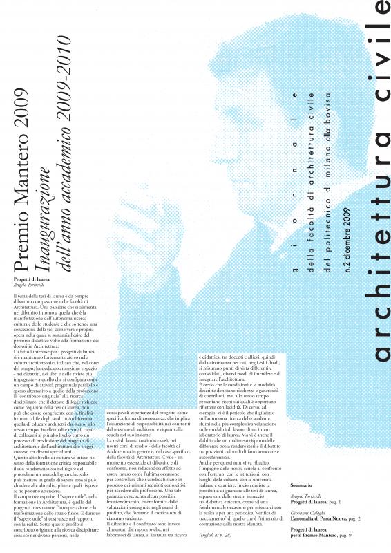 Architettura Civile n.2, 2009