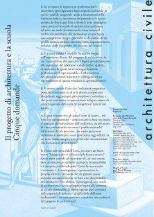 Architettura Civile n.16, 2017