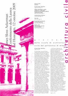 Architettura Civile n.6, 2012