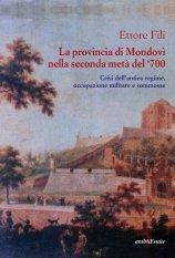 La Provincia di Mondovì nella seconda metà del '700